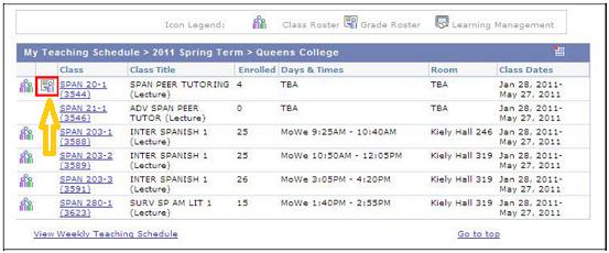 College Of Staten Island Schedule
