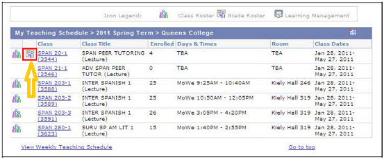 College Of Staten Island Course Schedule